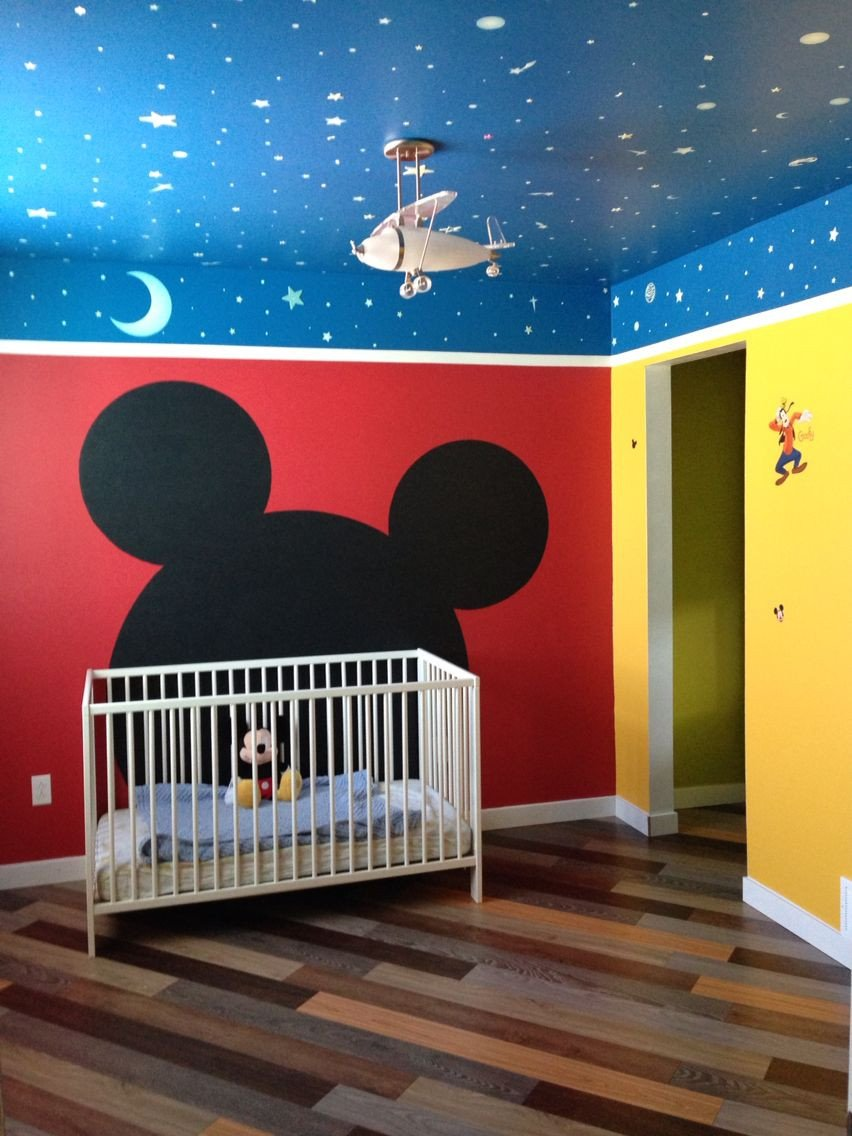 Minnie Mouse Bedroom Ideas Best Of Mickey Mouse themed toddler Room