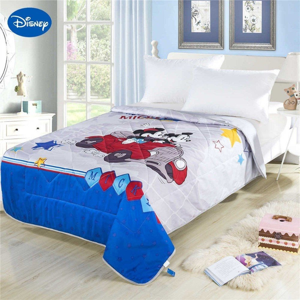 Minnie Mouse Twin Bedroom Set New Minnie Mickey Mouse Cars Summer Quilts forters Children S