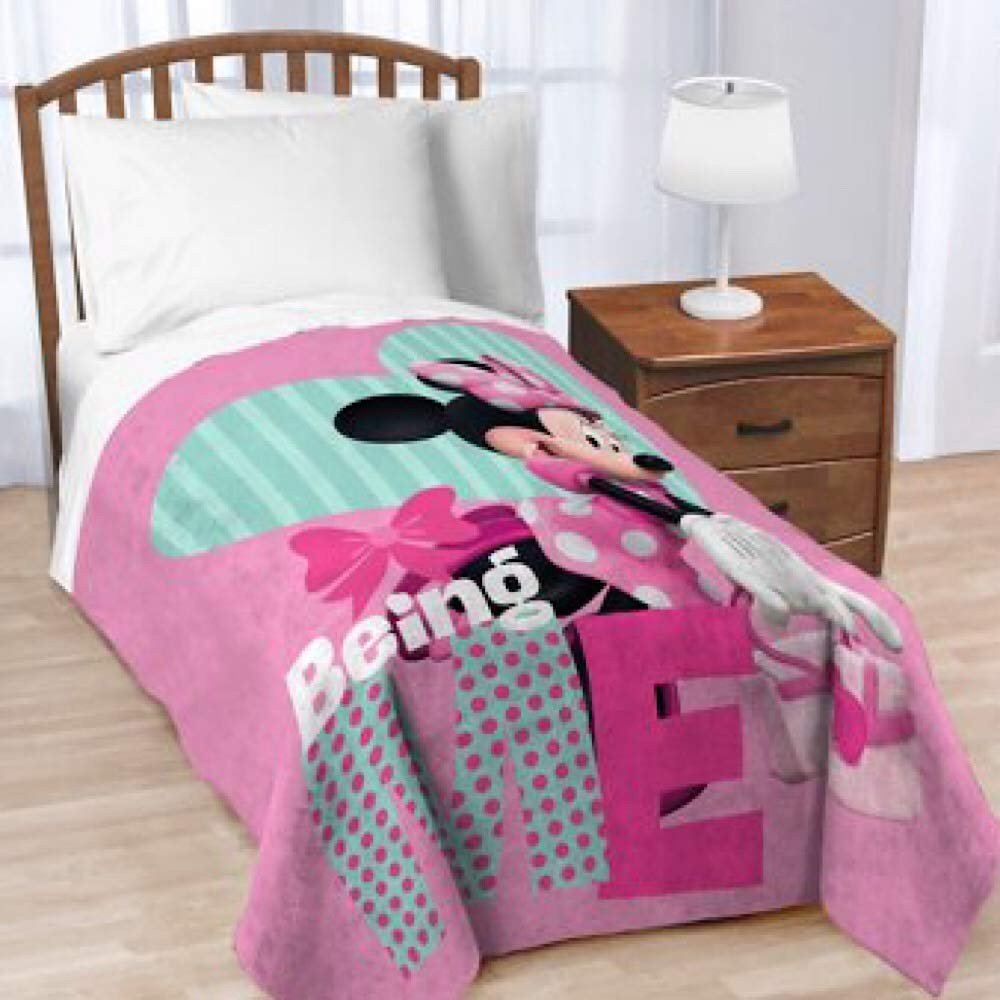 Minnie Mouse Twin Bedroom Set Unique Amazon Minnie Mouse Girls Twin Sized Bedding Blanket