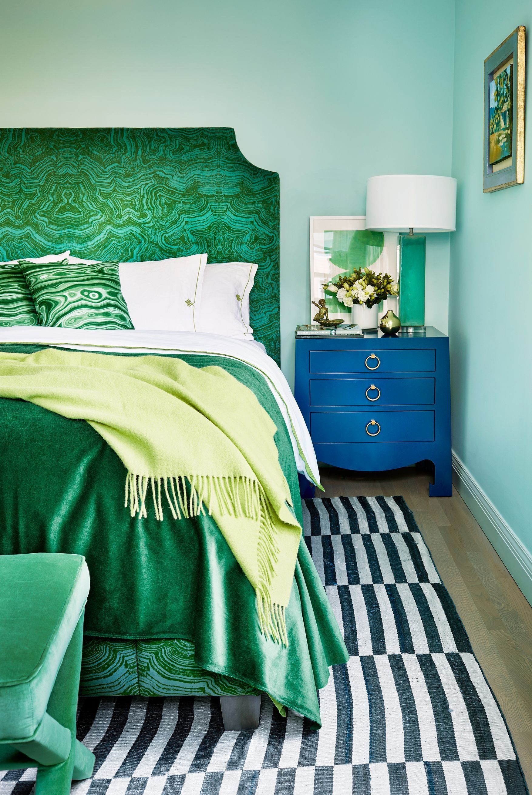 Mint Green Bedroom Decorating Ideas Elegant the E Color that Ll Cheer Up Your Home This Spring