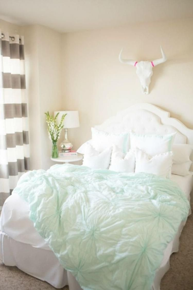 Mint Green Bedroom Decorating Ideas Inspirational 70 Incridibel Minimalist Elegant White themed Bedroom Ideas