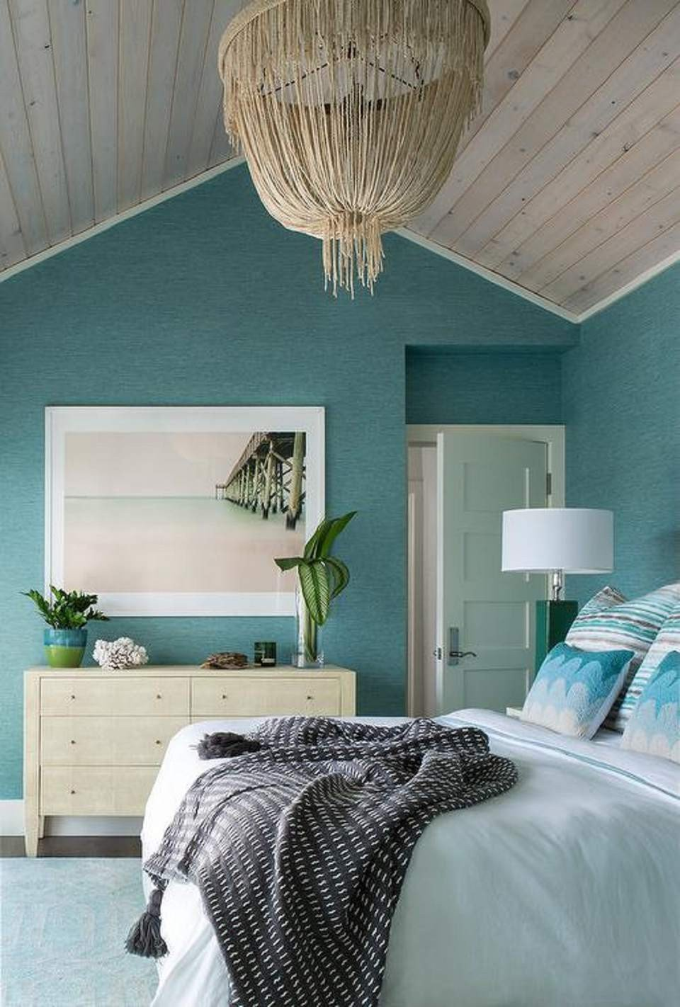 Mint Green Bedroom Decorating Ideas New 50 Gorgeous Beach Bedroom Decor Ideas