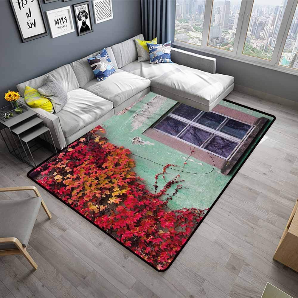 "Mint Green Bedroom Walls Elegant Amazon Autumn Long Kitchen Mat Bath Carpet 64""x 96"