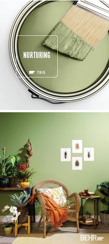 Mint Green Bedroom Walls Elegant Color Of the Month Nurturing