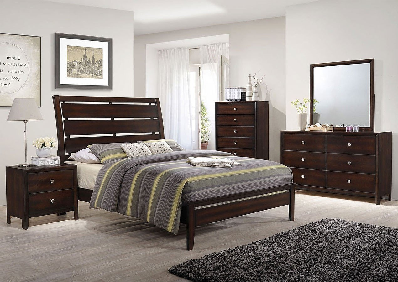 Mirror Bedroom Furniture Set Elegant Jackson Sleigh Bedroom Set