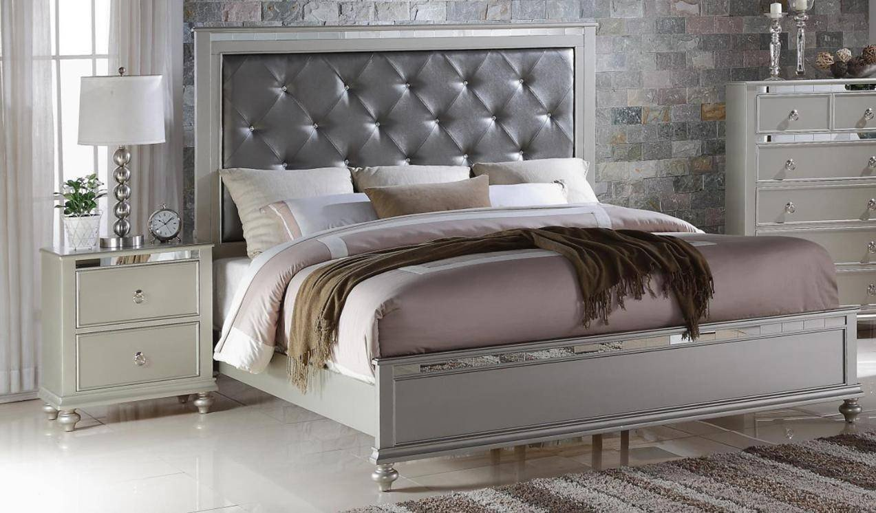 Mirrored Headboard Bedroom Set Beautiful soflex Kiana Diamond Tufted Headboard King Platform Bedroom