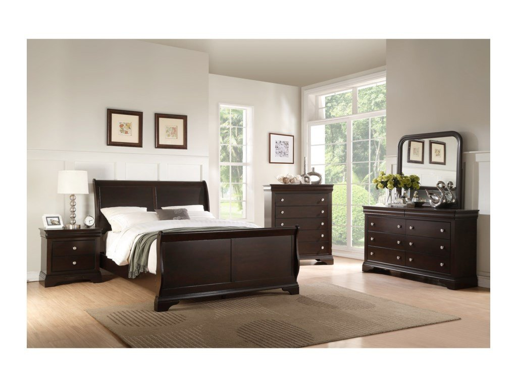 Mirrored Headboard Bedroom Set Fresh Leopold Dresser and Mirror Set