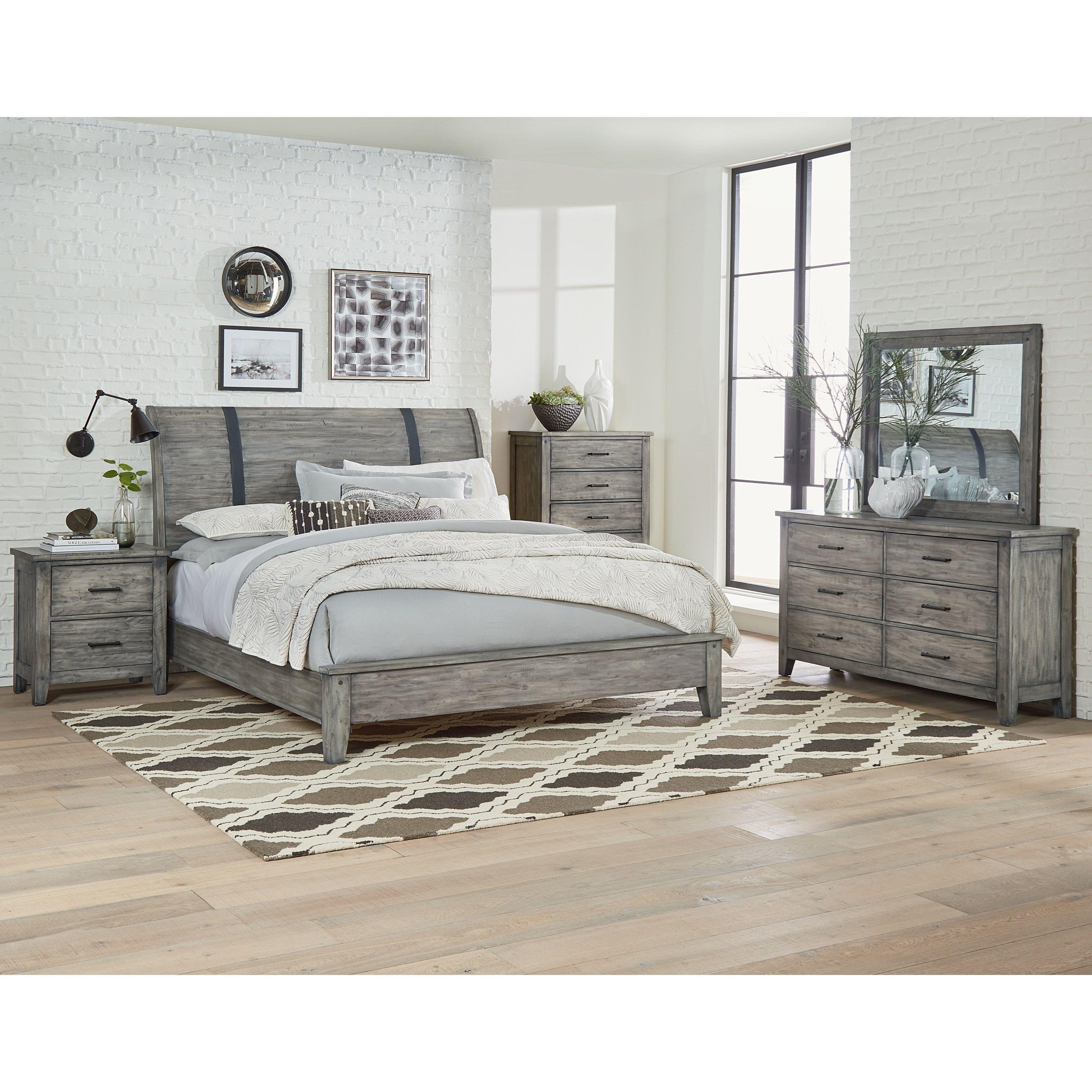 Mirrored Headboard Bedroom Set Unique Standard Furniture Nelson Queen Bedroom Group