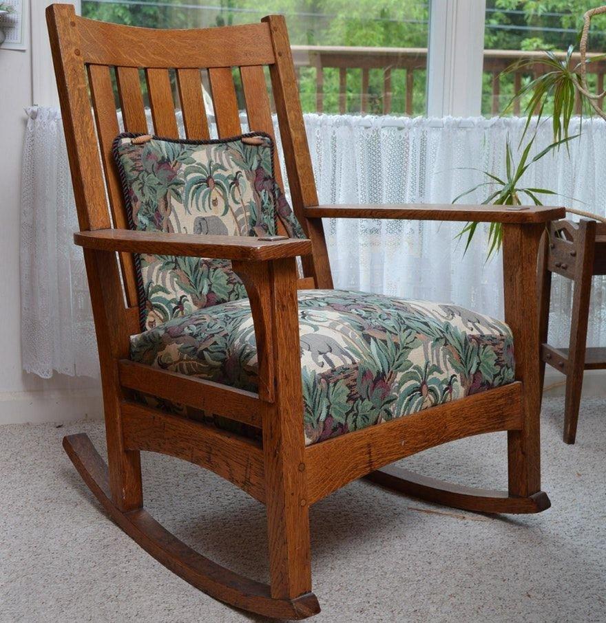 Mission Style Bedroom Furniture Lovely Antique L & J G Stickley Mission Style Oak Rocking Chair