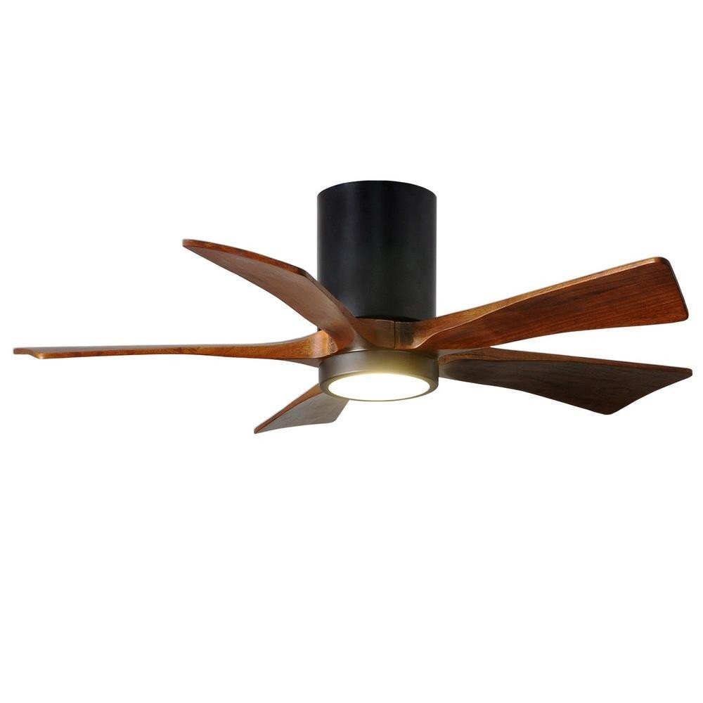 "Modern Bedroom Ceiling Fan Unique Irene 5hlk 42"" Flush Mount Ceiling Fan with Light Kit"