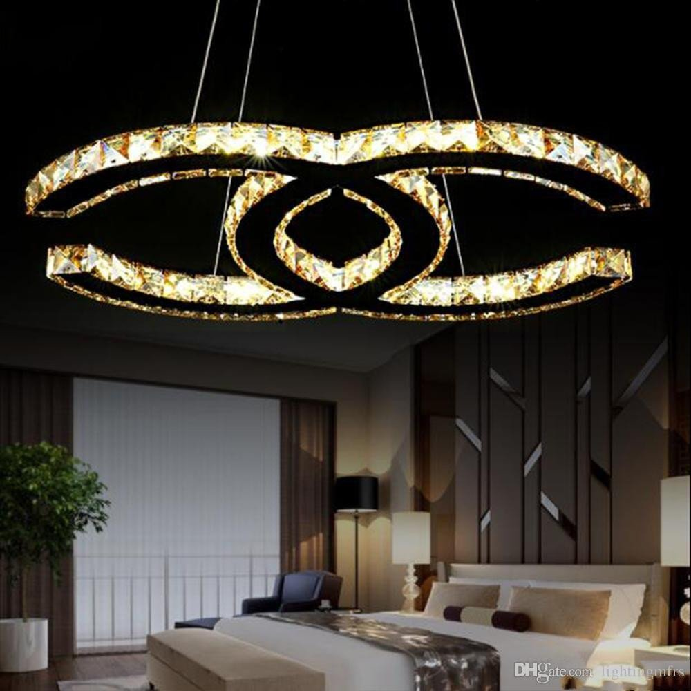 Modern Bedroom Ceiling Light Fresh 15w 18w 35w 48w Simple Modern Art Led Crystal Chandeliers Silver Amber Ceiling Mount Light Modern K9 Romantic Pendant Light Bedroom Fixture Pendants