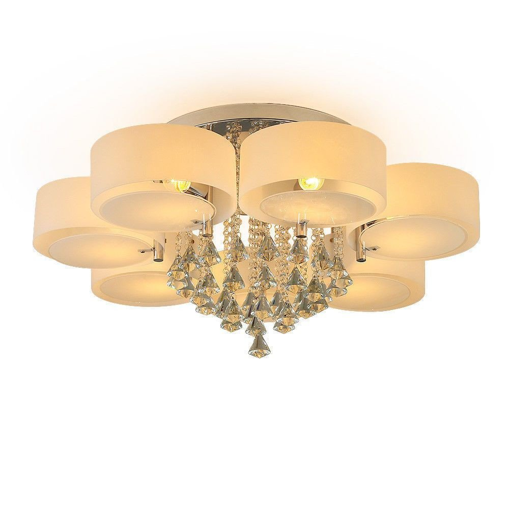 Modern Bedroom Ceiling Light Inspirational Details About Modern Crystal Ceiling Lights 3 5 7 Head