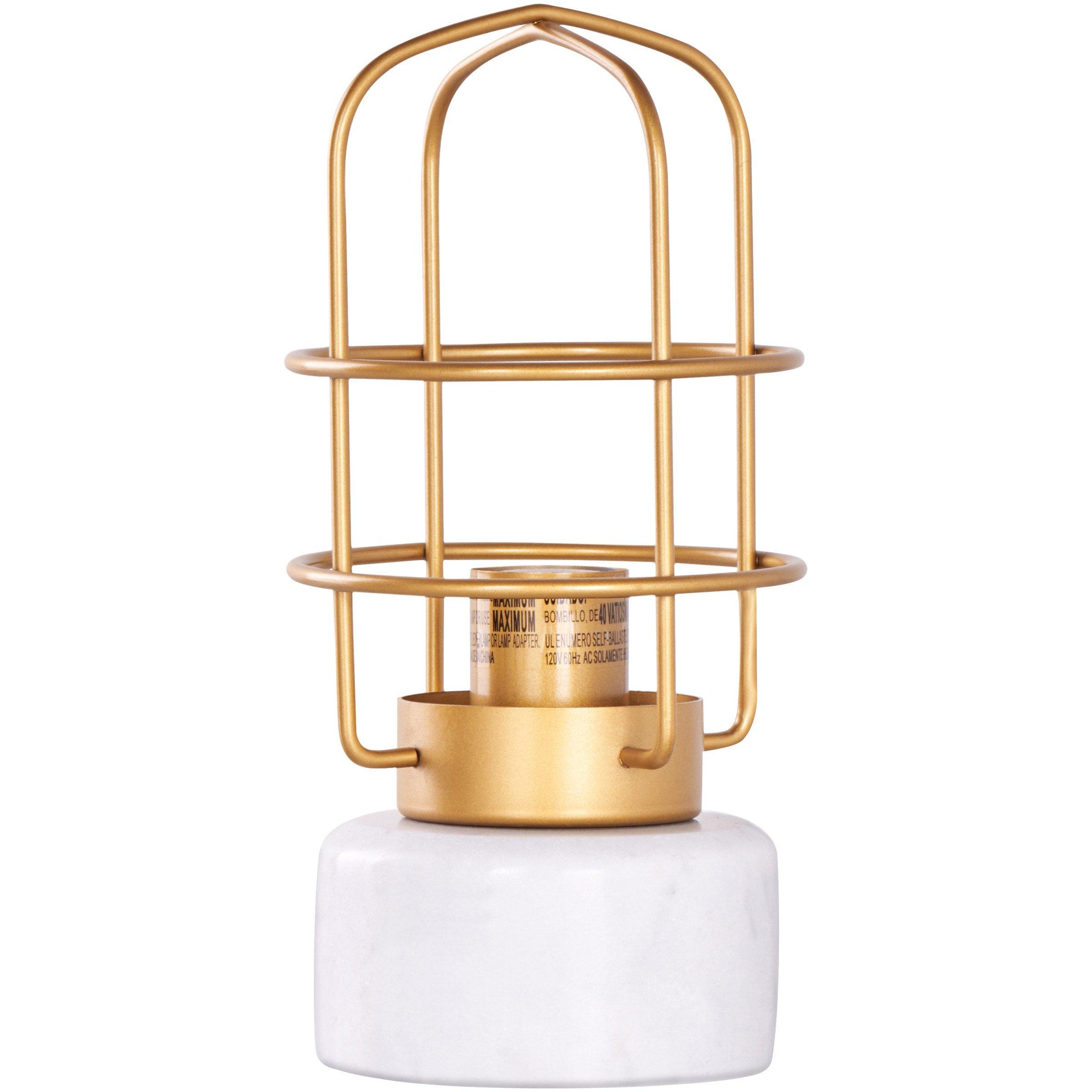Modern Table Lamp for Bedroom Lovely Better Homes & Gardens Brushed Brass Finish Marble Base