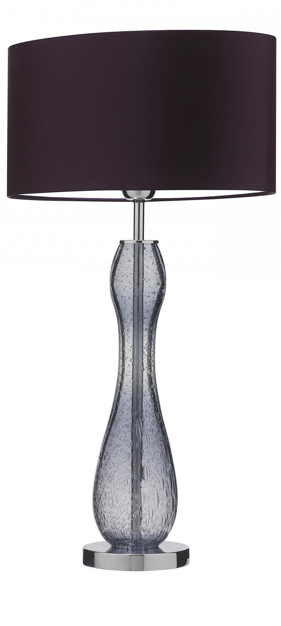"Modern Table Lamp for Bedroom Luxury Purple"" Purple Table Lamp Table Lamps Modern Table Lamps"