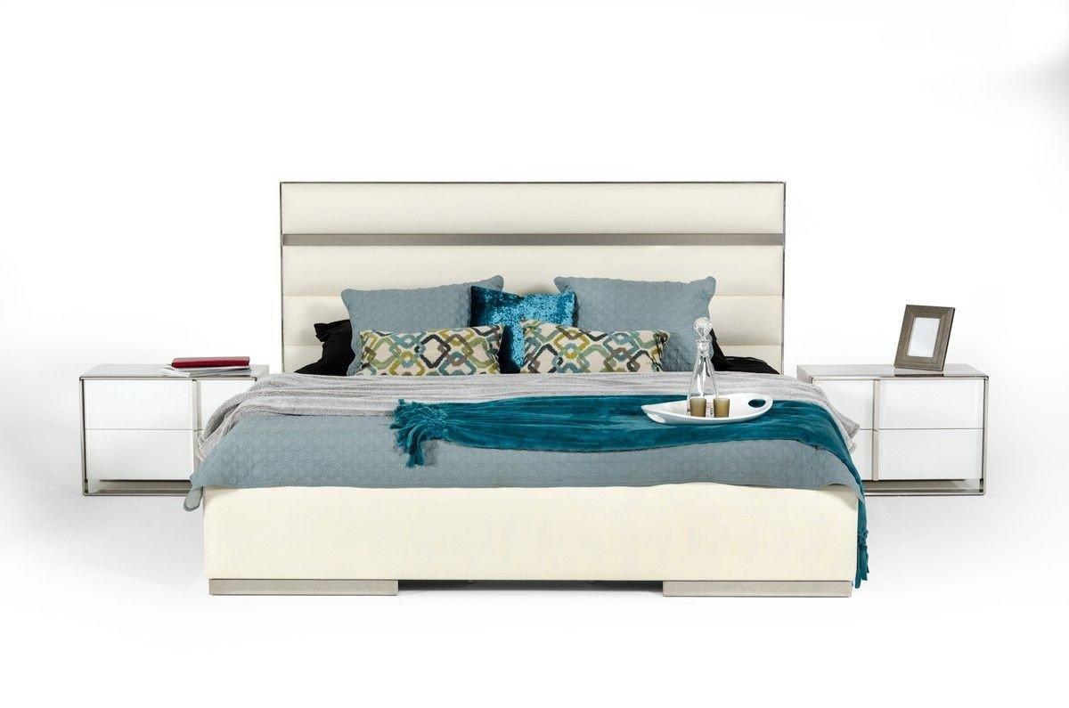 Modern White Bedroom Set Fresh Nova Domus Francois Modern White Bedroom Set