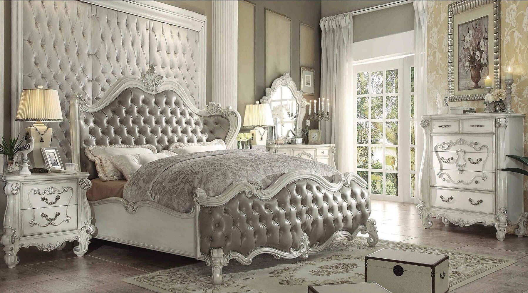 Monte Carlo Bedroom Set Best Of Acme Versailles Bedroom Set with Queen Bed Nightstand