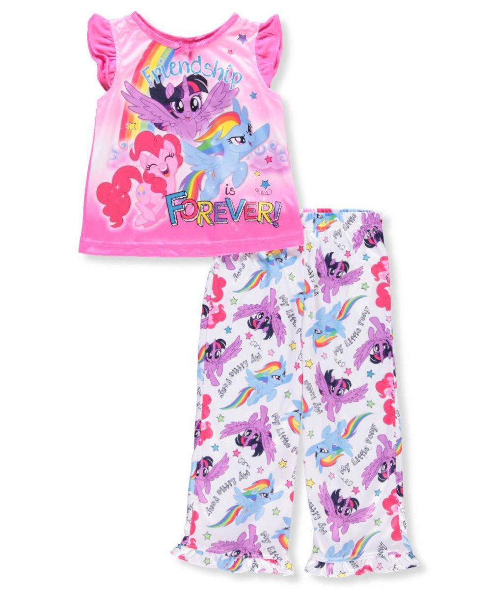 My Little Pony Bedroom Decor Best Of My Little Pony My Little Pony Girls 2 Piece Pajamas Walmart