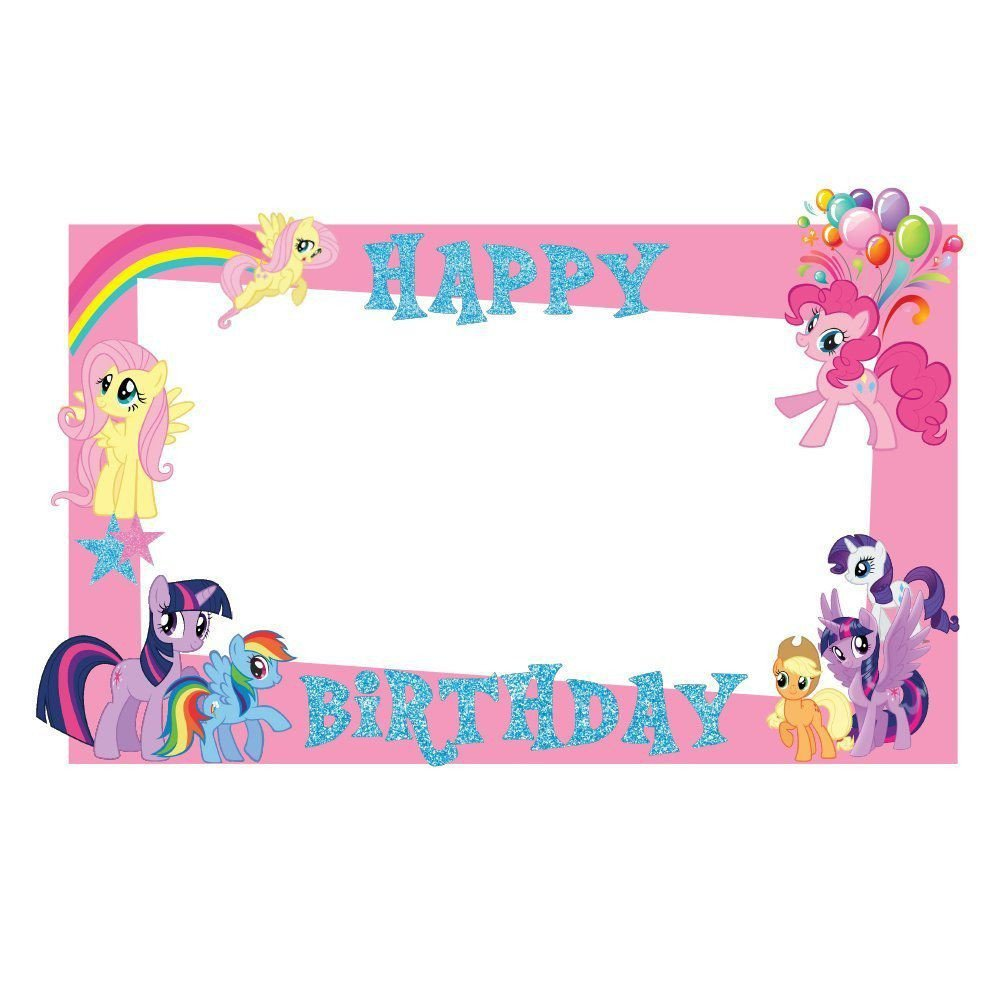 My Little Pony Bedroom Decor Inspirational Party Propz My Little Pony Photobooth Frame 2ft My Little