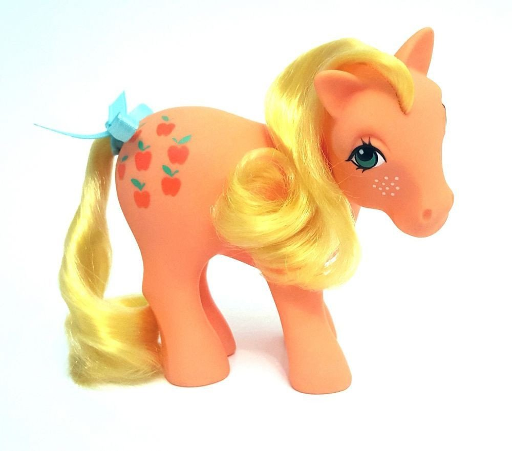My Little Pony Bedroom Decor Lovely Vintage G1 My Little Pony Long Curly Hair Variant Applejack