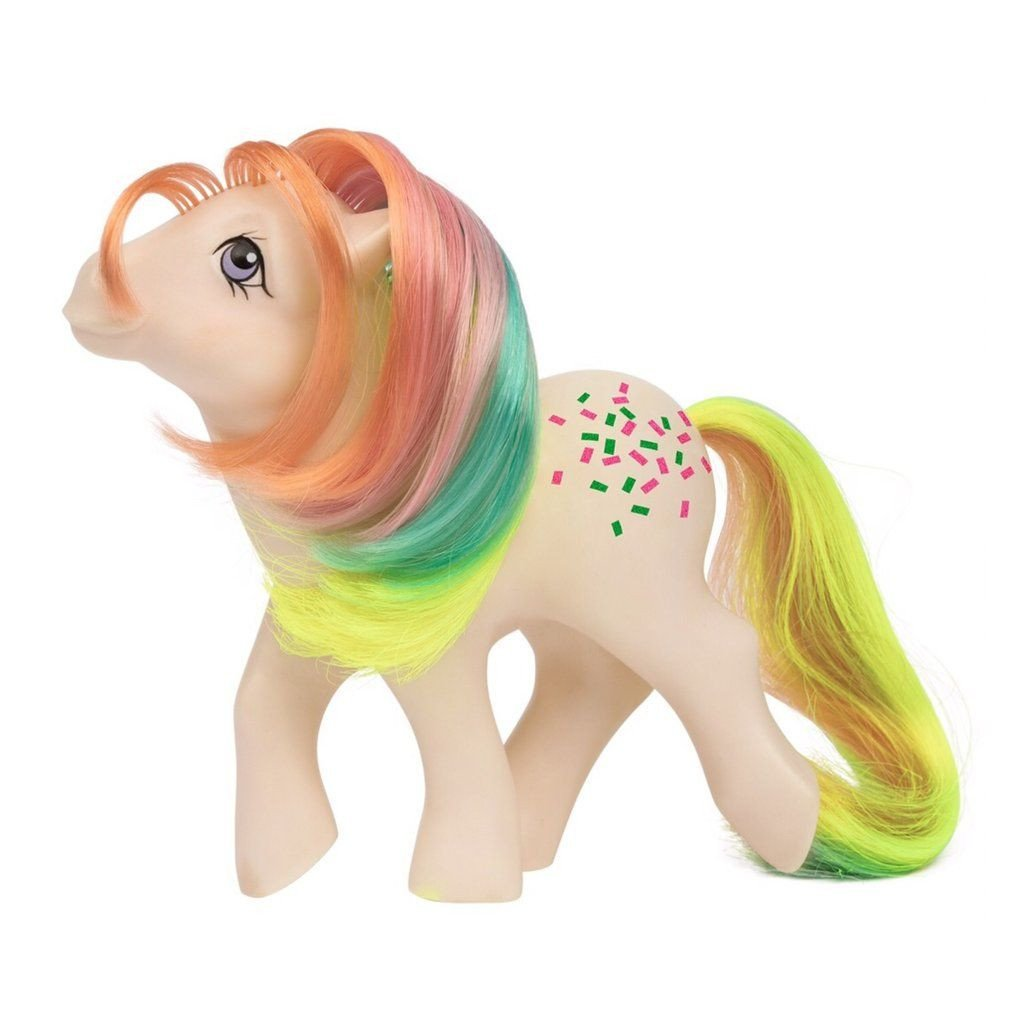 My Little Pony Bedroom Decor New Rainbow Pony Wave 2 G1 Confetti