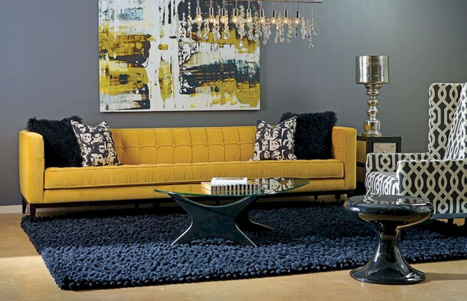 Navy Blue and Yellow Bedroom Inspirational 65 Beautiful Yellow sofa for Living Room Decor Ideas