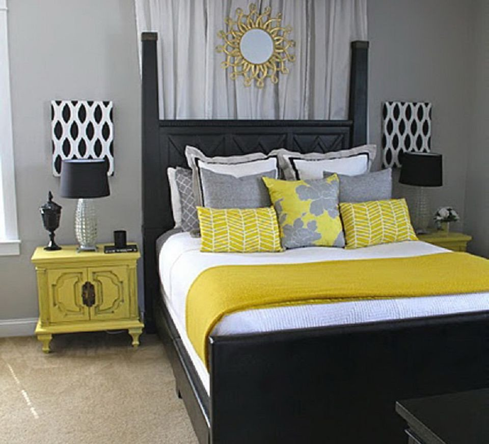 Navy Blue and Yellow Bedroom New How to Decorate A Bedroom with Yellow