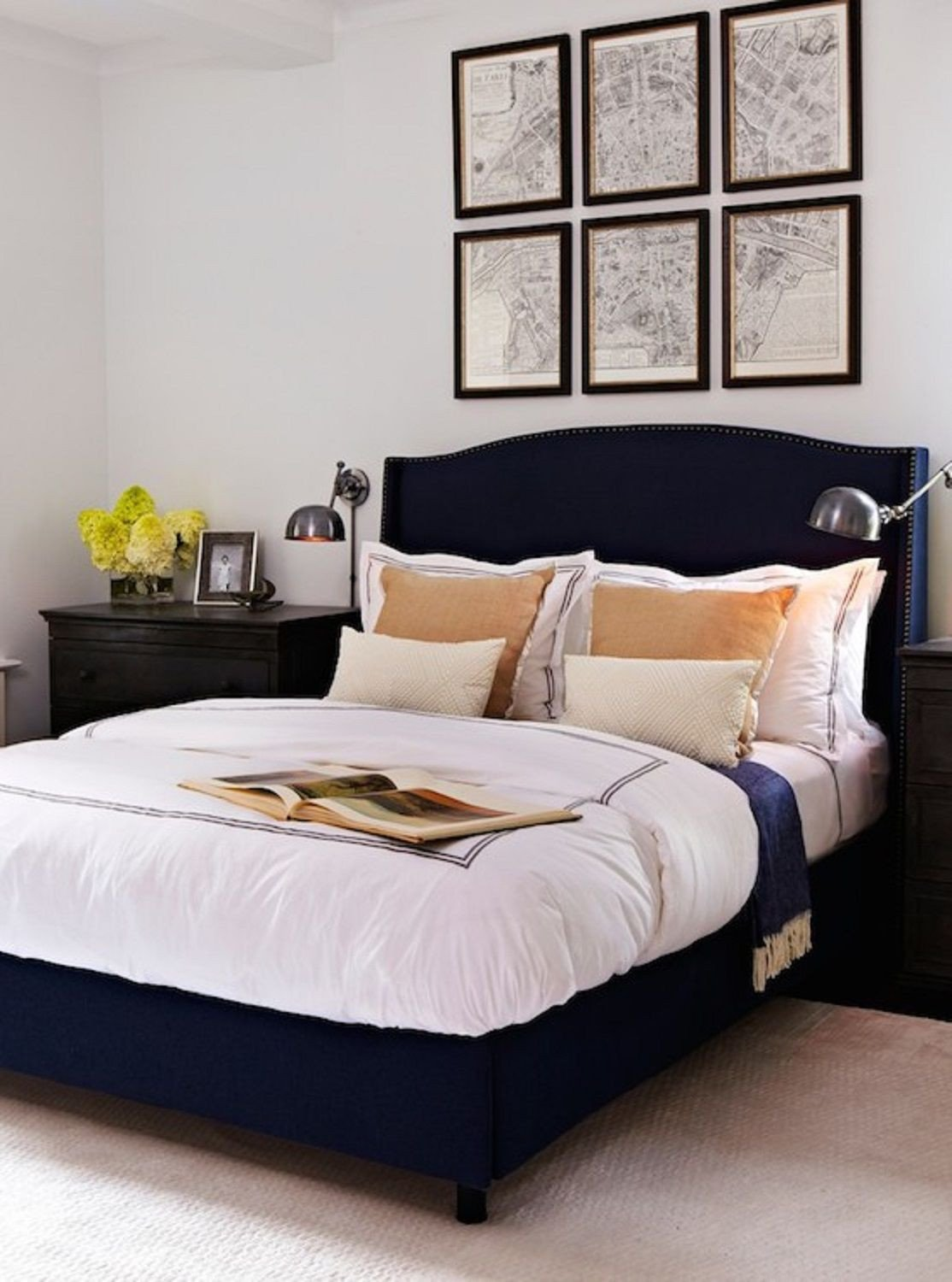 Navy Blue Bedroom Ideas Beautiful 25 Stunning Blue Bedroom Ideas