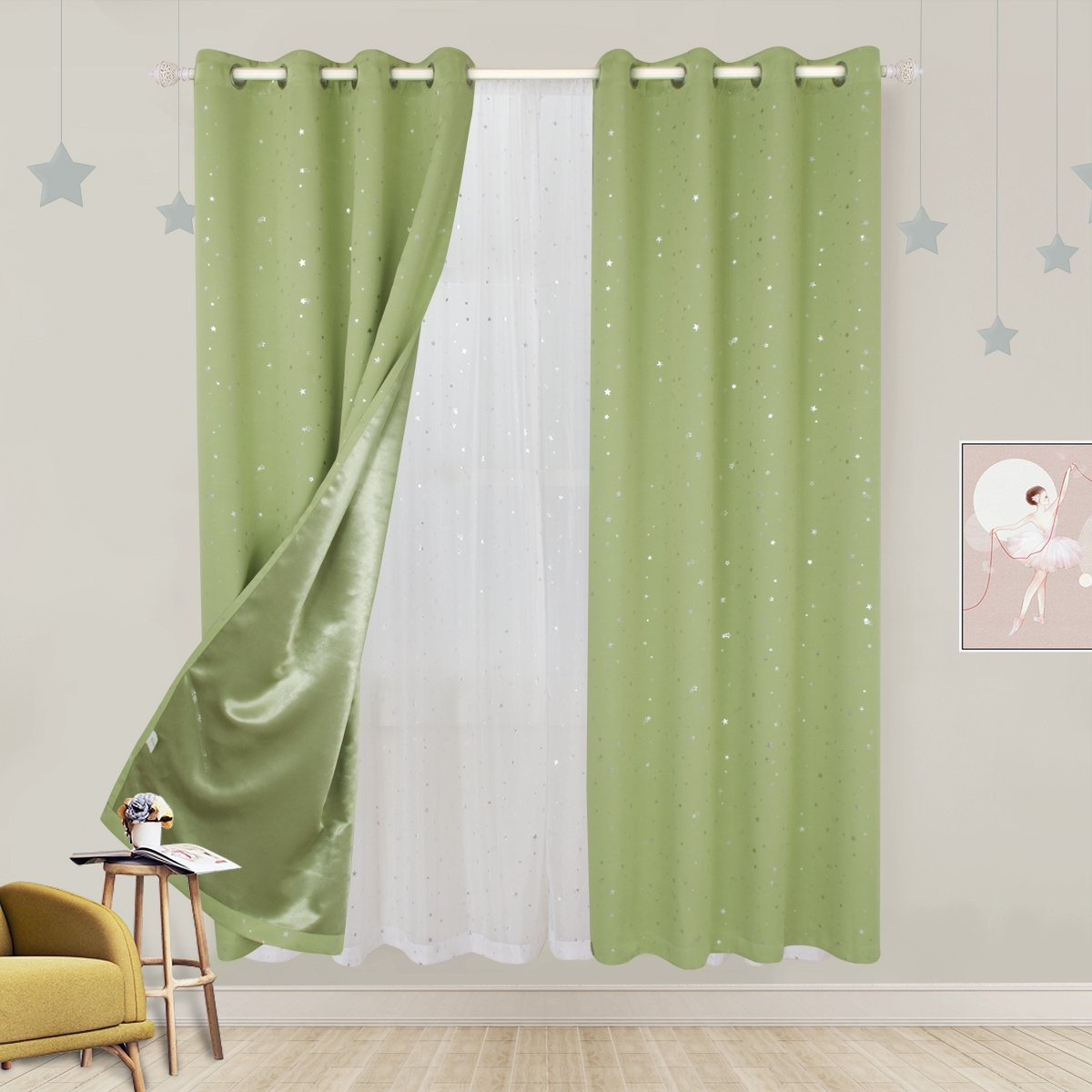 Navy Blue Curtains for Bedroom Best Of Bgment Kids Blackout Curtains for Bedroom Grommet thermal