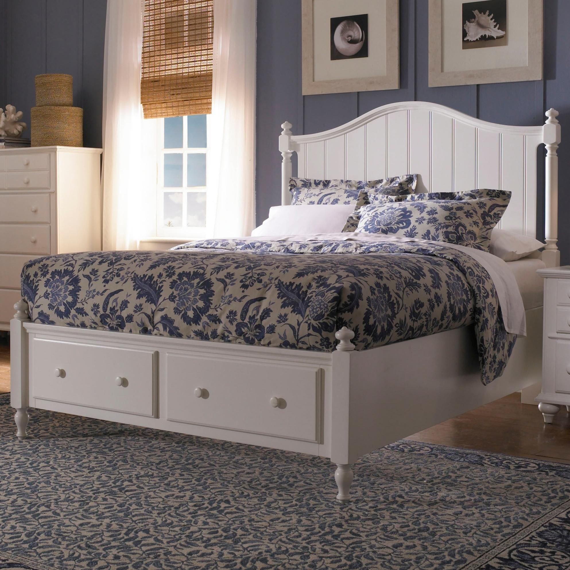 Nebraska Furniture Bedroom Set New Hayden Place Queen Headboard and Storage Footboard Bed by