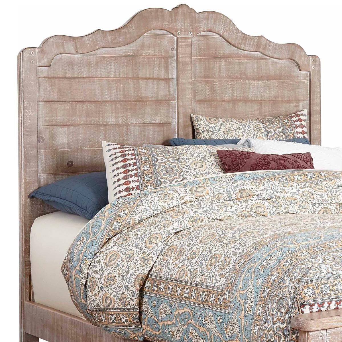 Nebraska Furniture Mart Bedroom Set Lovely Tiddal Home Chatsworth King Panel Bed In Chalk Distressed