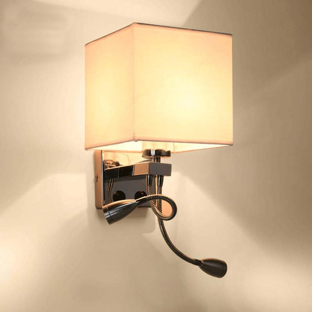 Night Lamp for Bedroom Elegant Modern Metal Led Night Light Bedroom Bedside Living Room