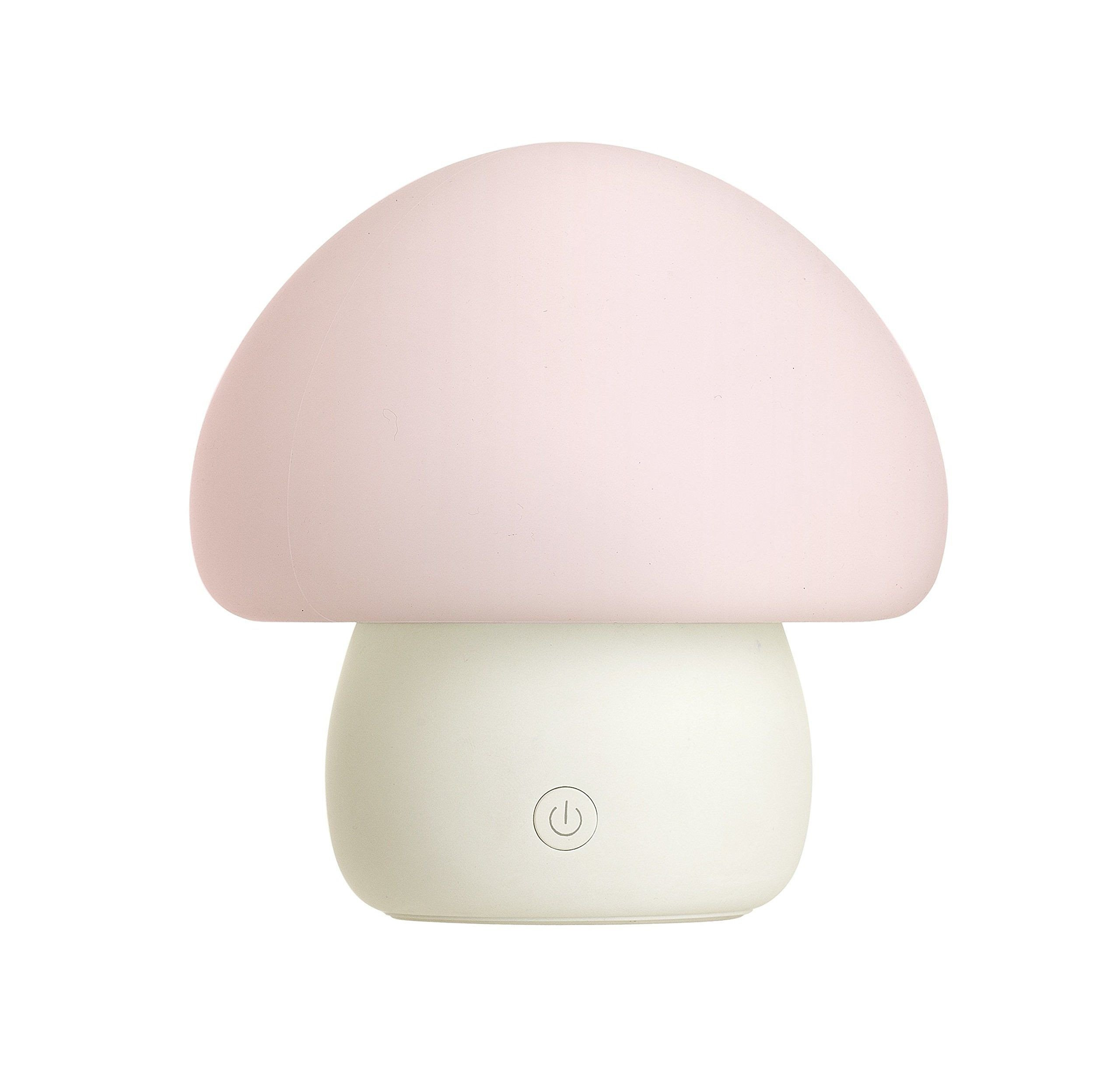 Night Lamp for Bedroom Inspirational Multicolor Led Baby Night Light Portable Silicone Mushroom