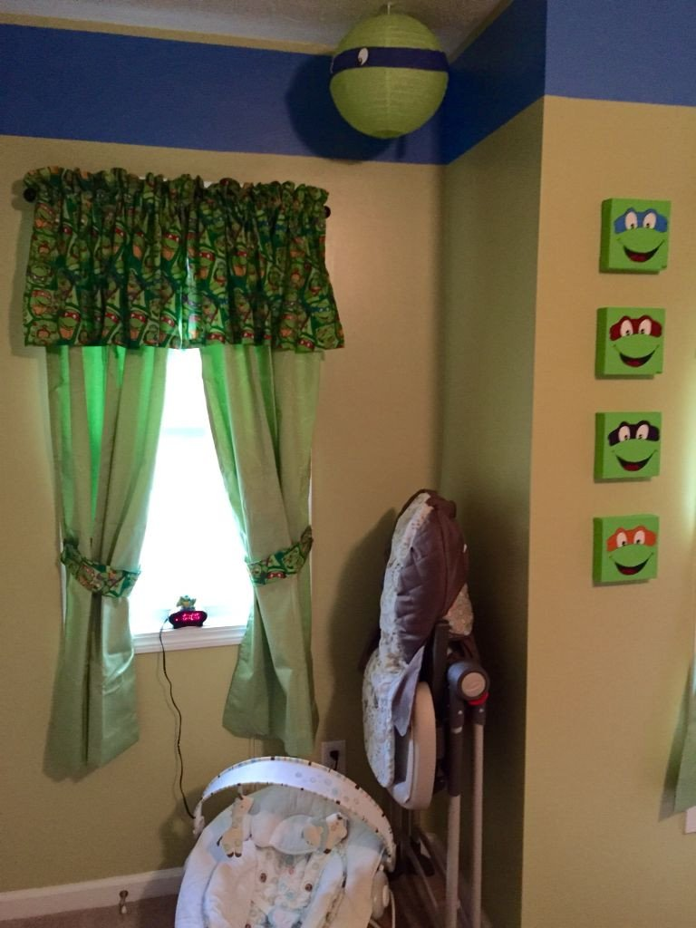 Ninja Turtle Bedroom Set Best Of Baby Turtle Nursery