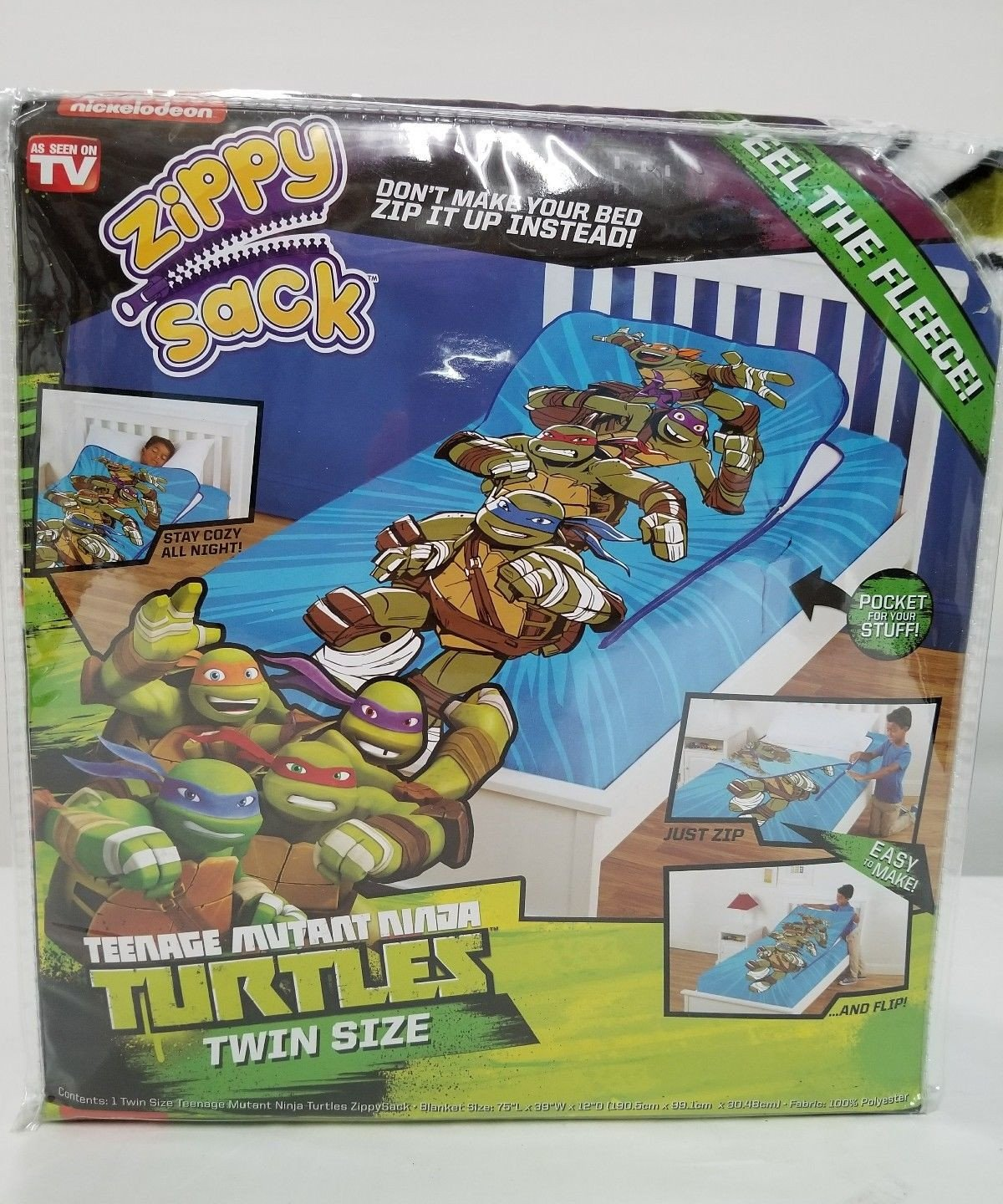Ninja Turtle Bedroom Set Elegant Zippysack Teenage Mutant Ninja Turtles Twin Size Zippy Sack