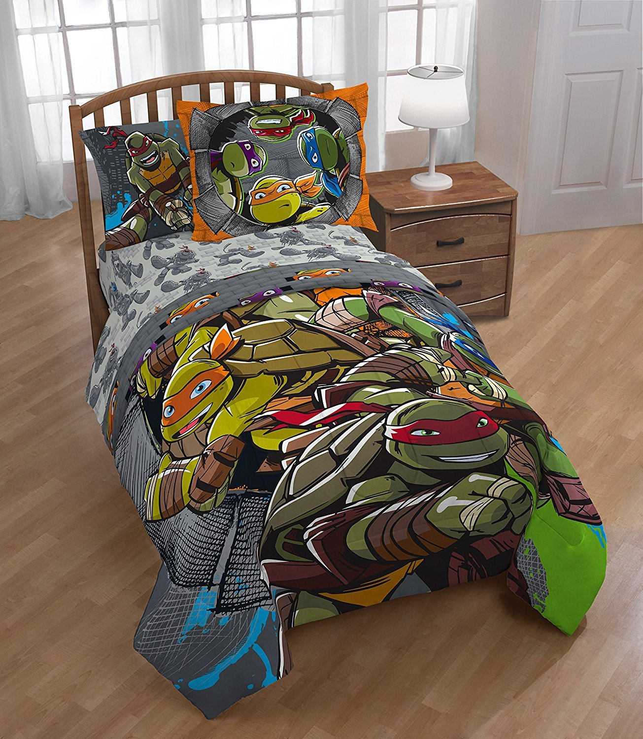 Ninja Turtle Bedroom Set Fresh Buy D I D 5 Piece Kids Green Blue Teenage Mutant Ninja