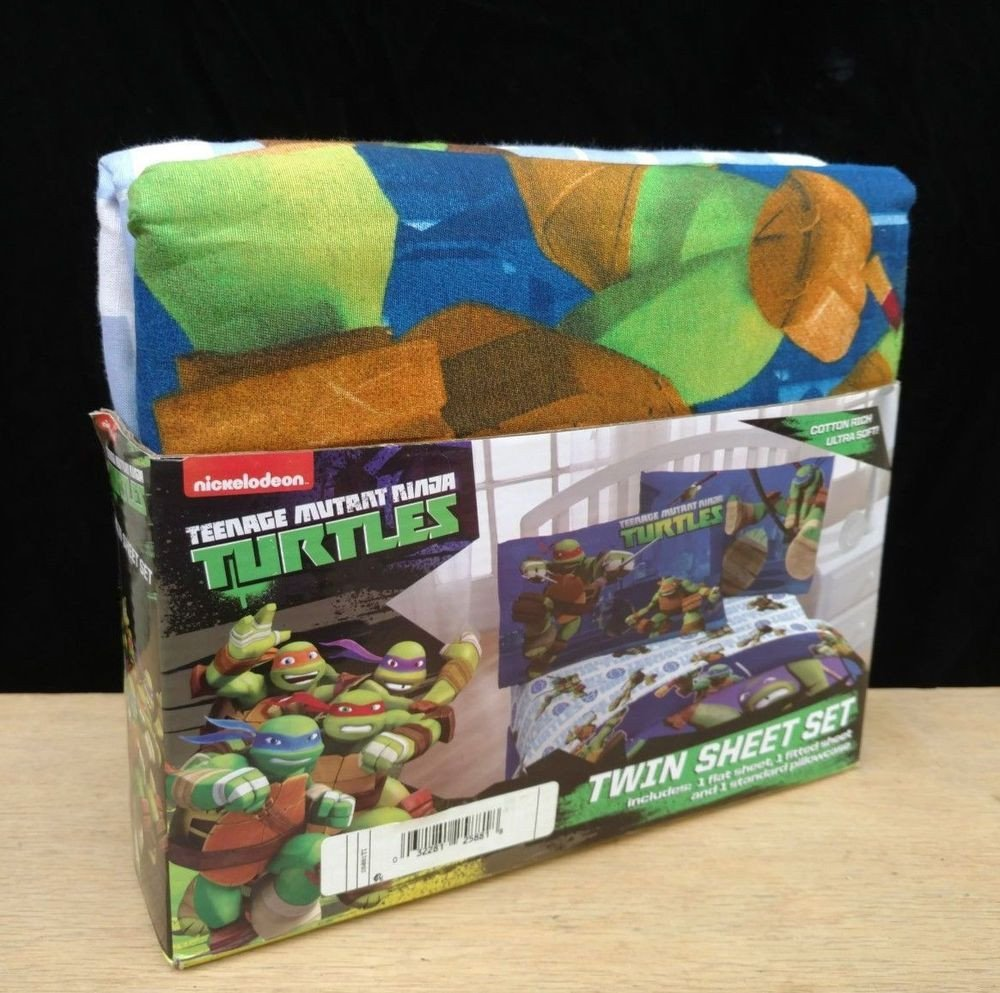 Ninja Turtle Bedroom Set Inspirational Details About Teenage Mutant Ninja Turtles 3 Pc Twin Size
