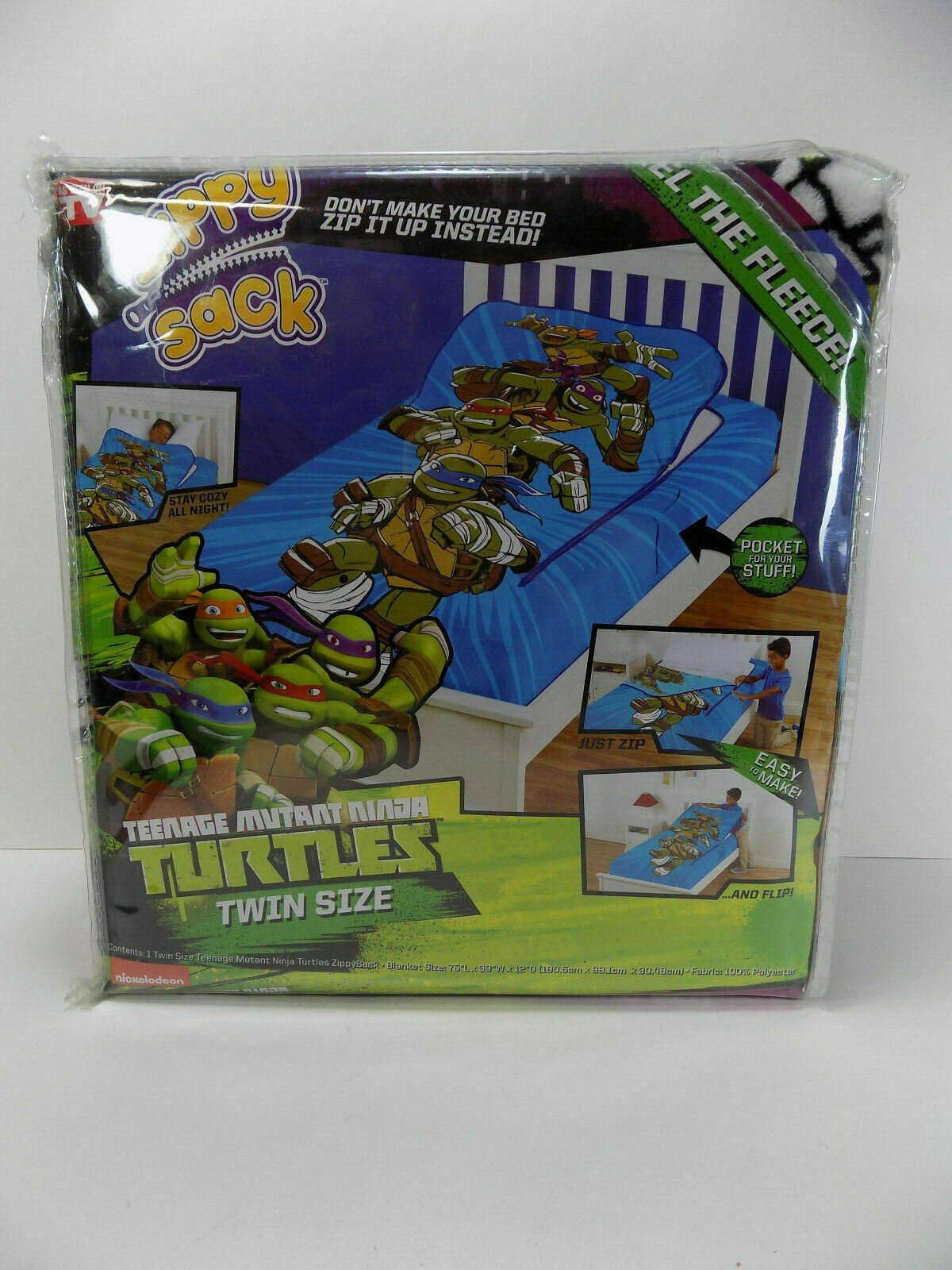 Ninja Turtle Bedroom Set Unique Zippysack Teenage Mutant Ninja Turtles Twin Size Zippy Sack