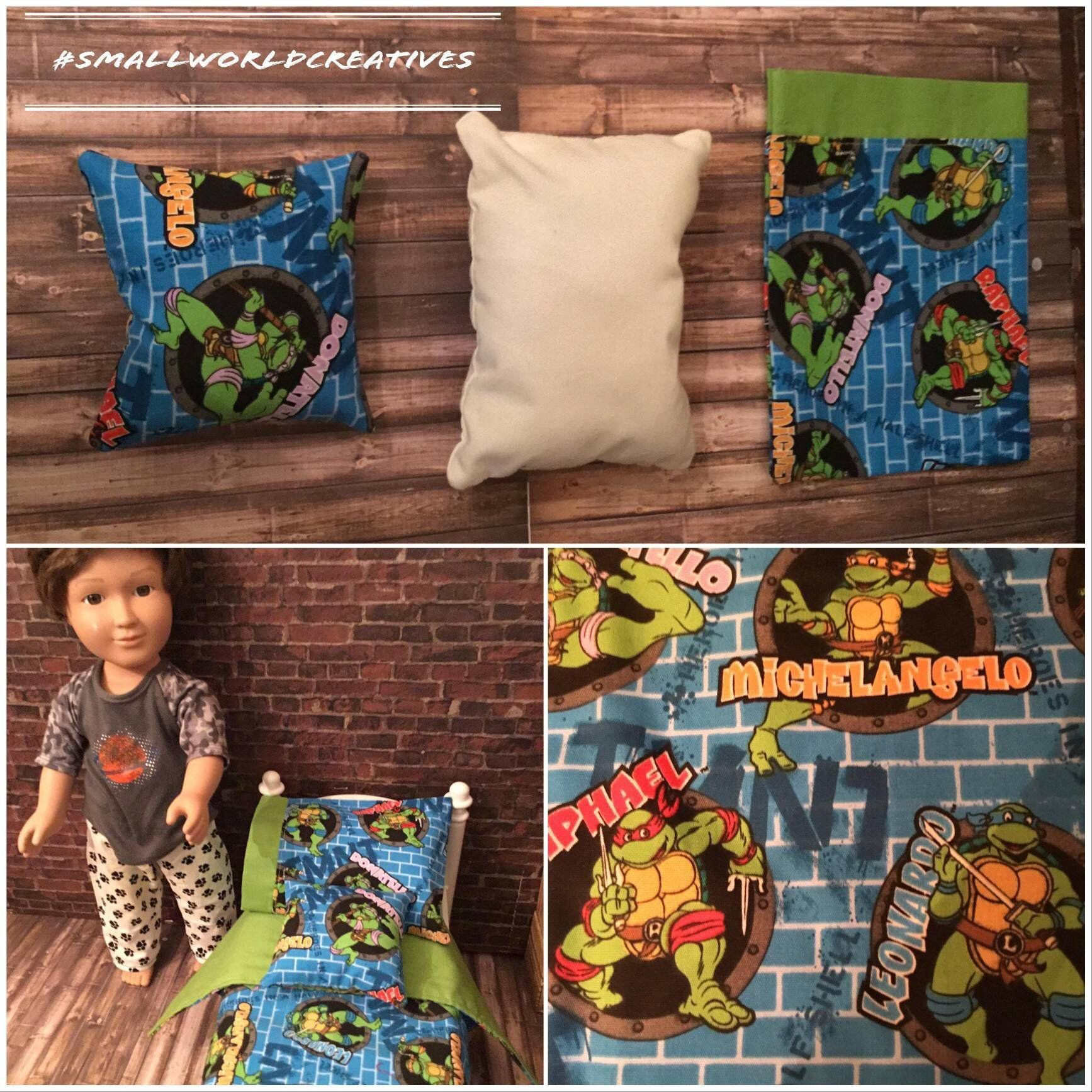Ninja Turtles Bedroom Ideas Best Of Pin On American Girl Doll Bedding