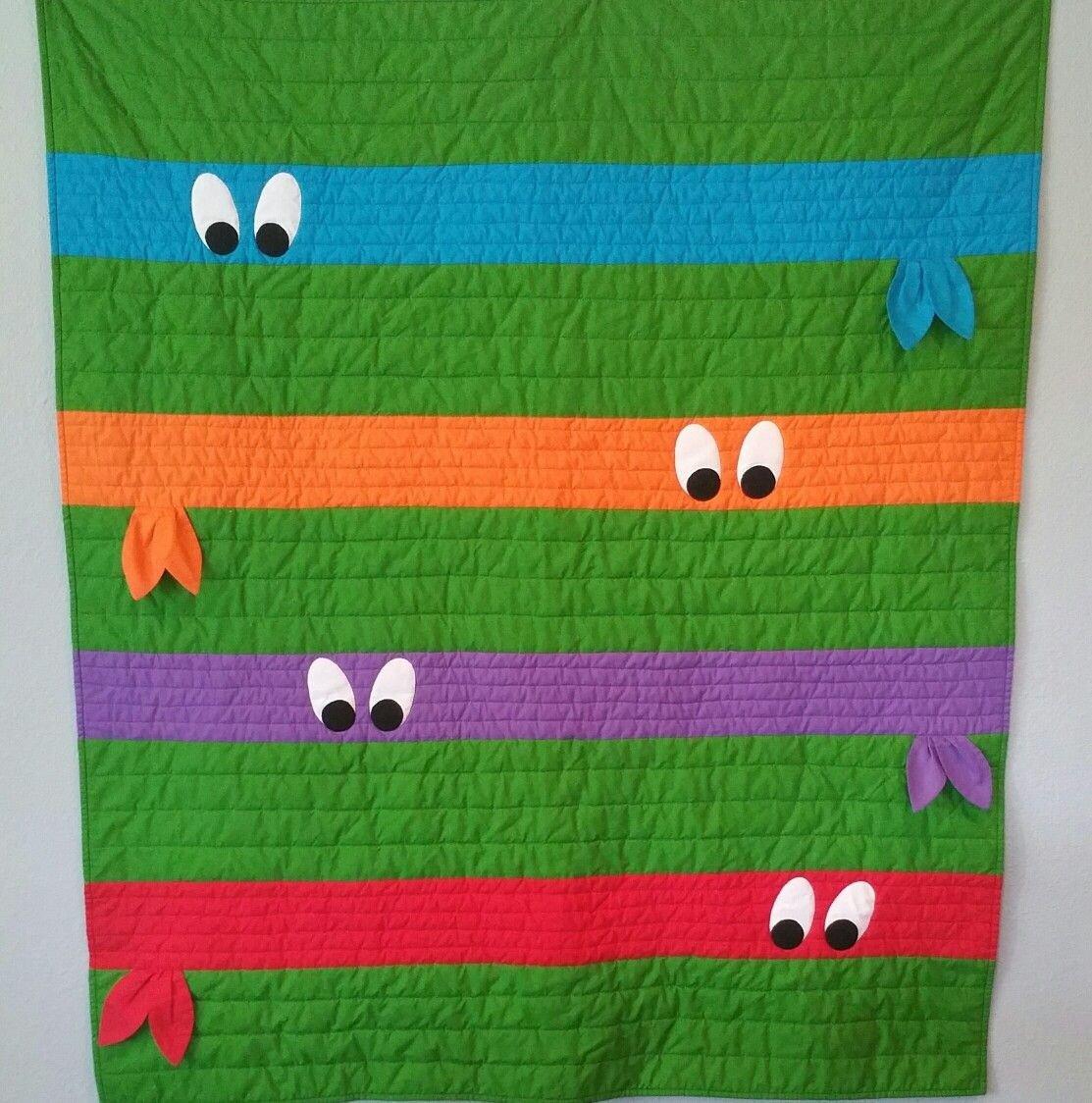 Ninja Turtles Bedroom Ideas Inspirational Ninja Turtle Quilt …