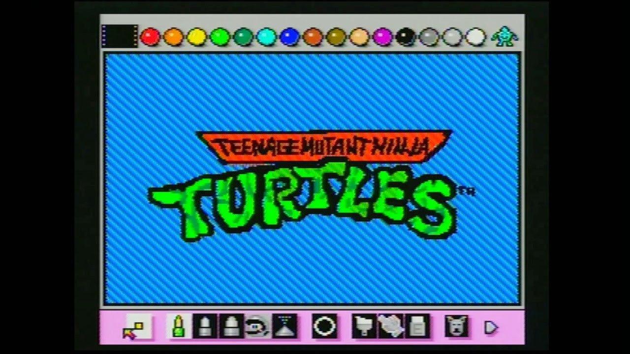 Ninja Turtles Bedroom Ideas Luxury Teenage Mutant Ninja Turtles Intro Animated with Mario Paint