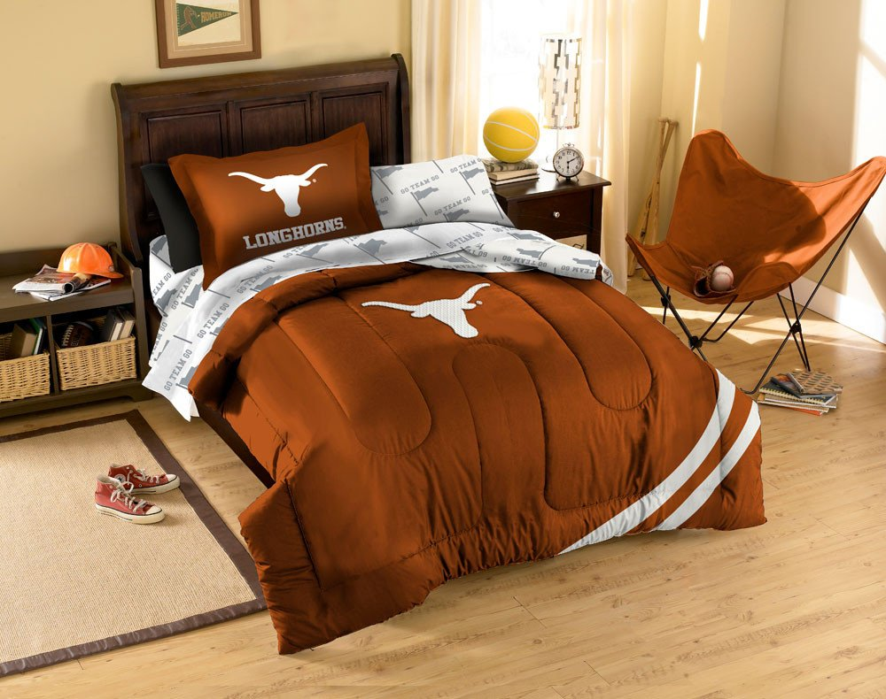 Oakland Raiders Bedroom Set Beautiful Texas Longhorns Ncaa Bed In A Bag Twin Walmart