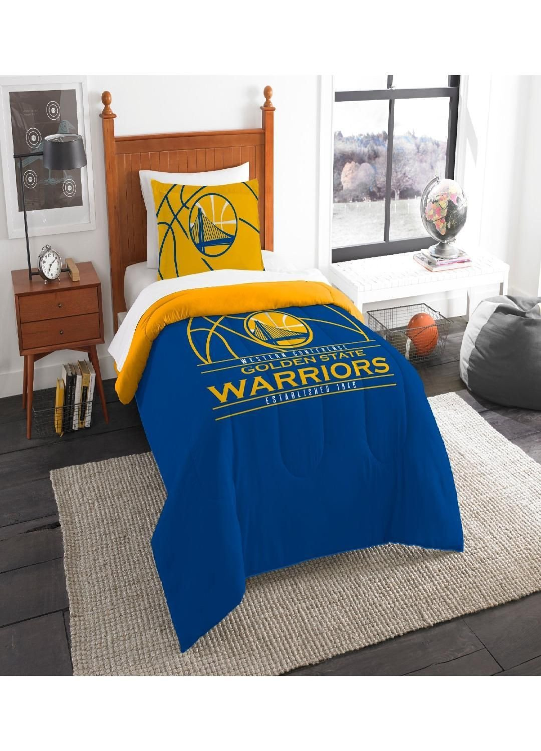 Oakland Raiders Bedroom Set Luxury Golden State Warriors Twin forter Set