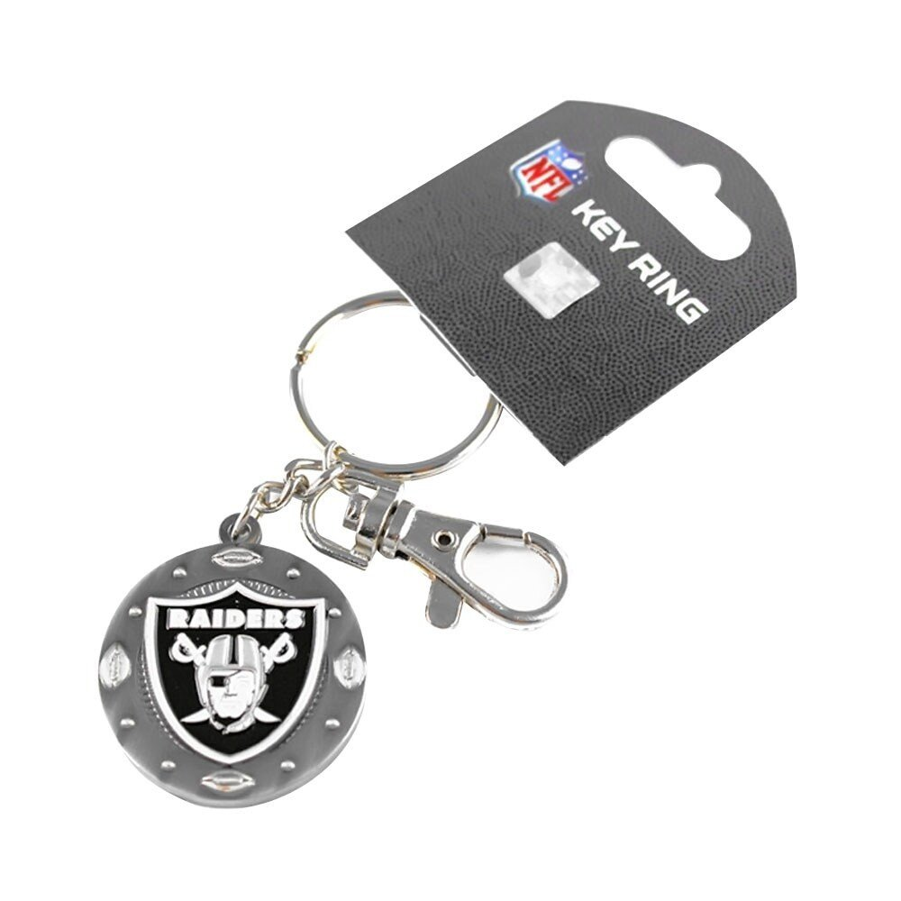 Oakland Raiders Bedroom Set Luxury Nfl Oakland Raiders Sports Team Logo Impact Metal Key Ring Clip Keychain