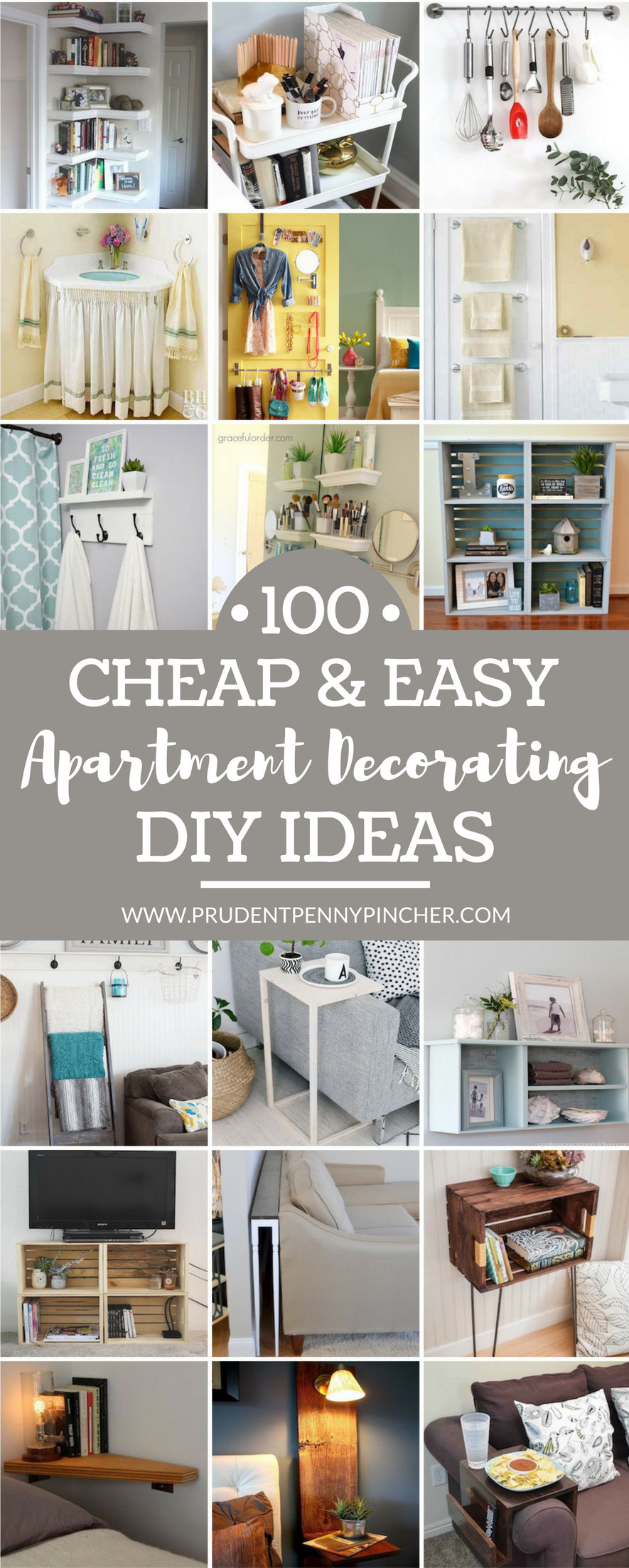 Organization Tips for Bedroom Elegant 100 Cheap and Easy Diy Apartment Decorating Ideas