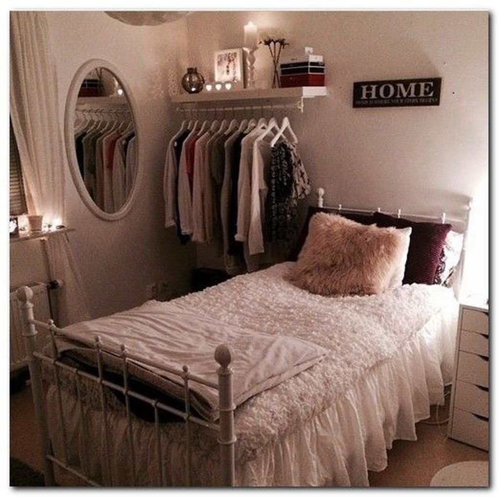 Organizing A Small Bedroom Unique 43 Easy Decoration Ideas for Small Bedroom