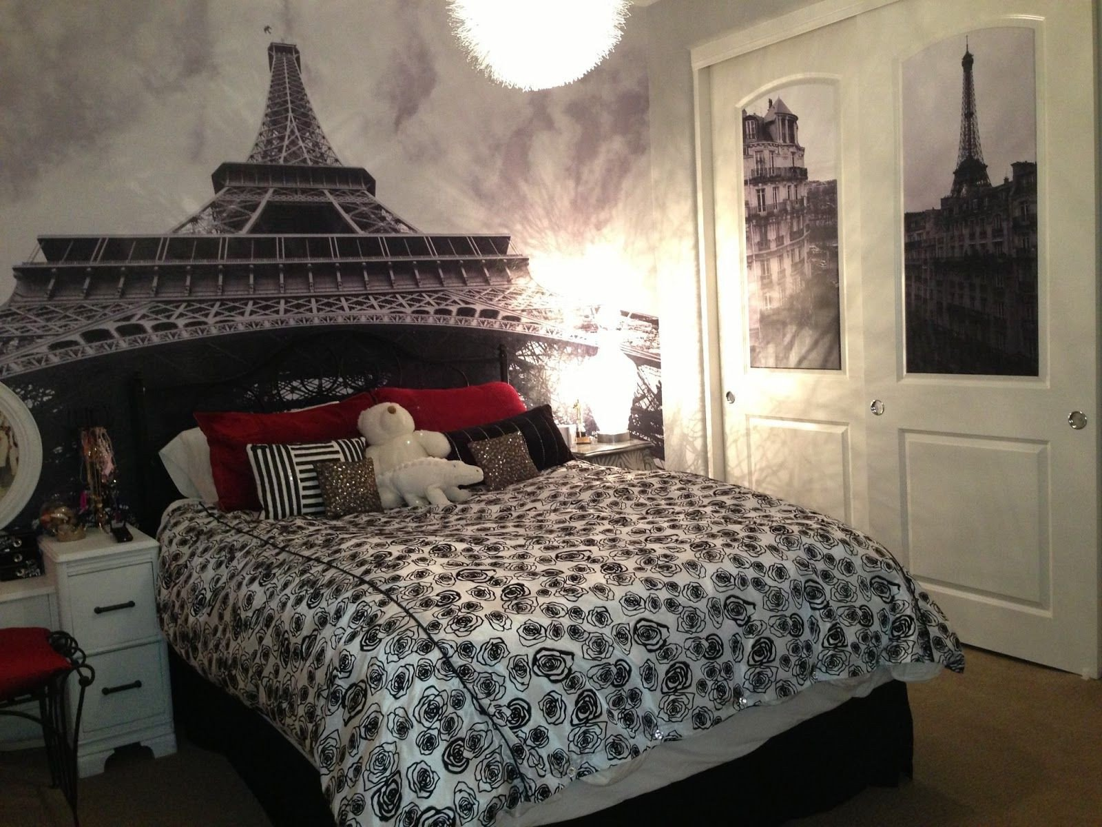 Paris Decor for Bedroom New Ideas for Paris themed Bedroom