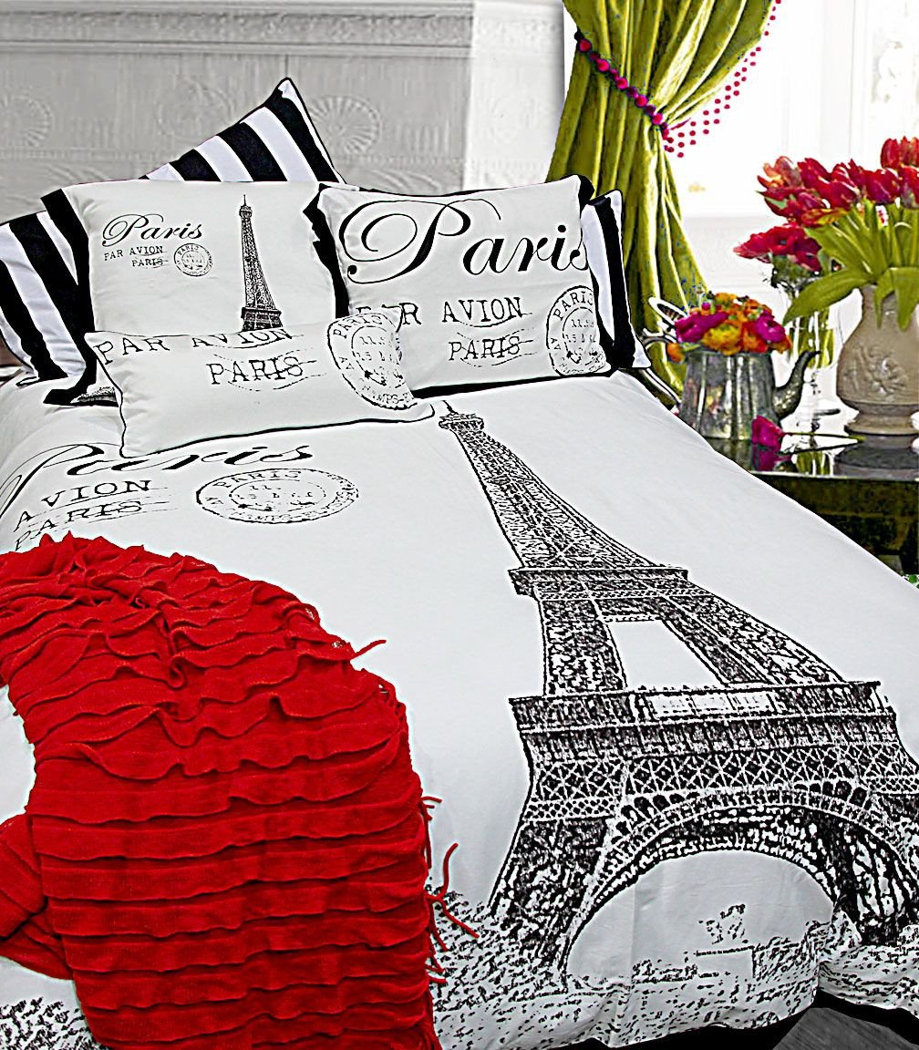 Paris themed Bedroom Decor New Eiffel tower Motif Adds A sophisticated Note with An Extra