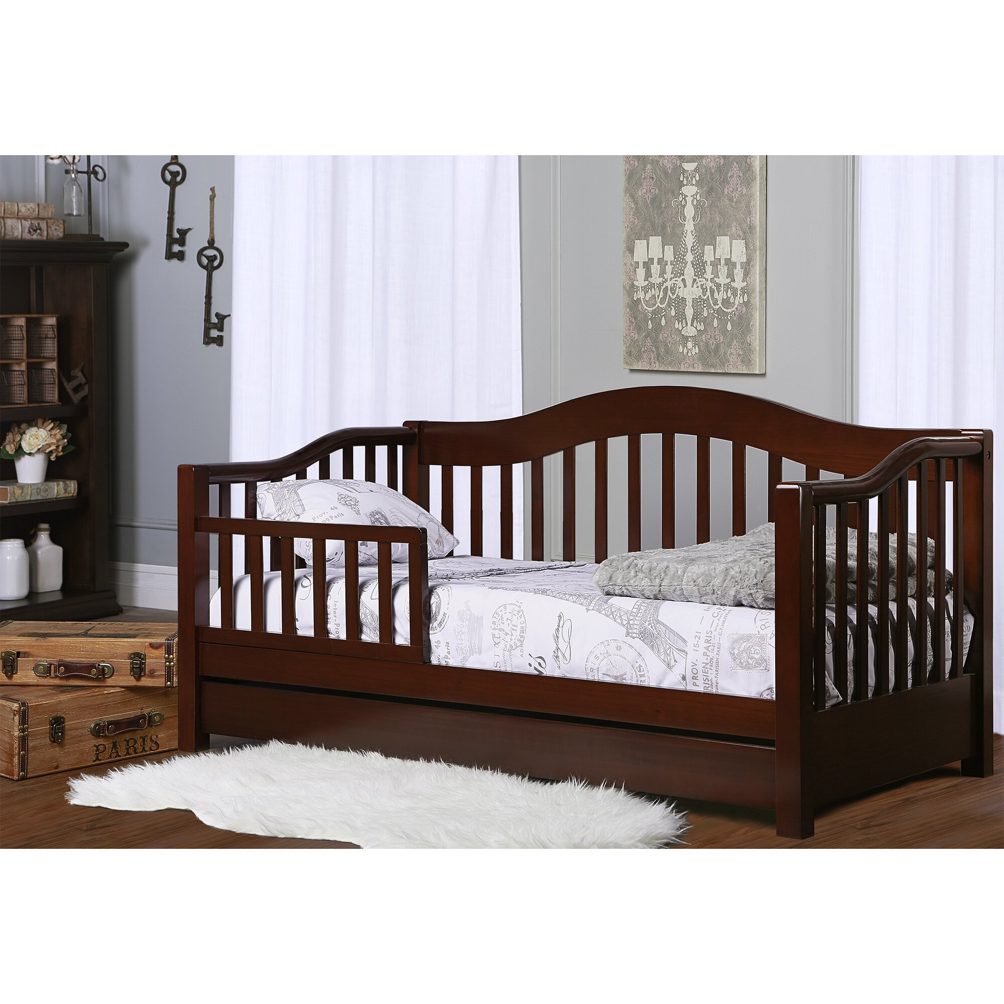 Paris themed Bedroom Set Luxury Clarkson toddler Bed