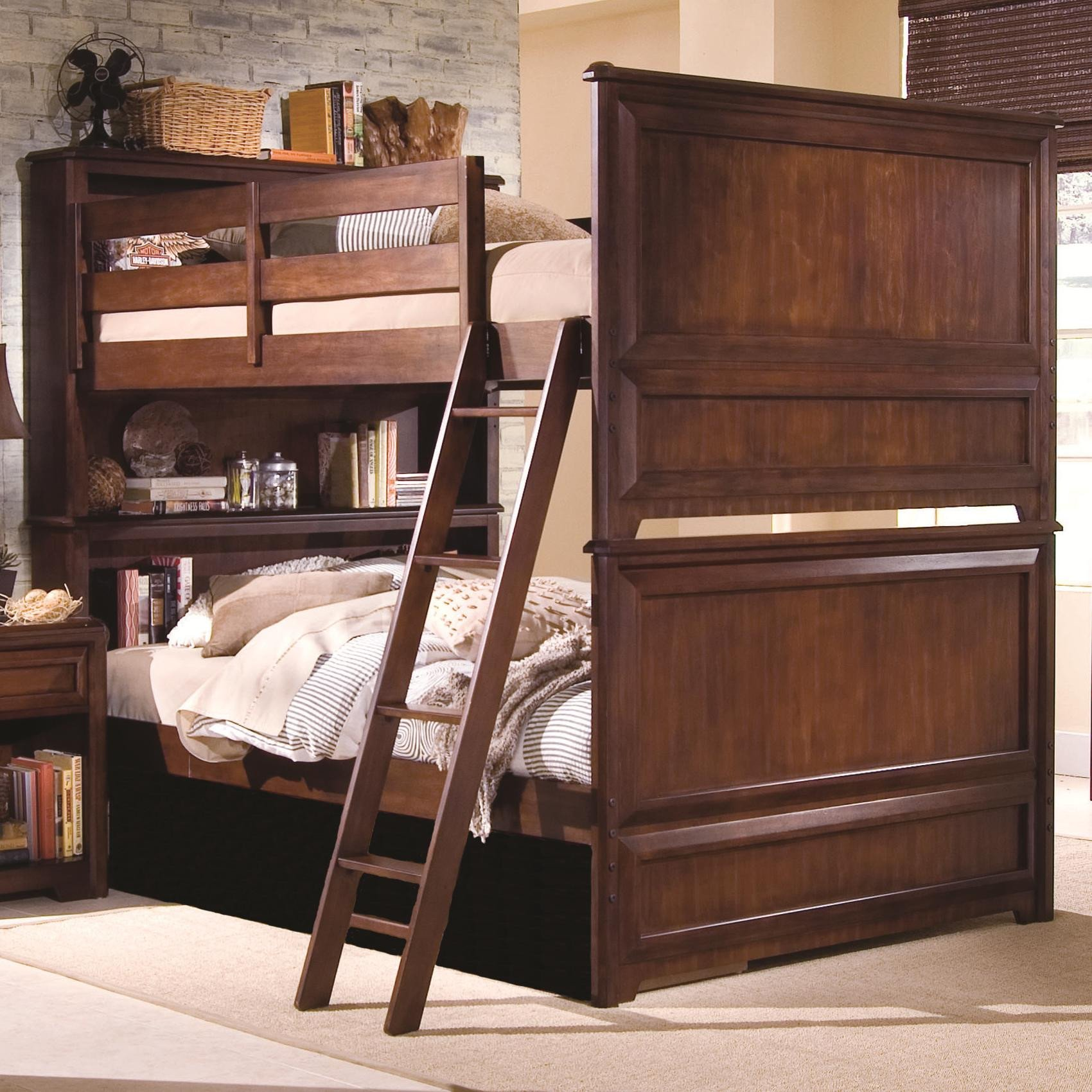 Paul Bunyan Bedroom Set Awesome Lea Industries Elite Expressions Full Over Full Bunkbed
