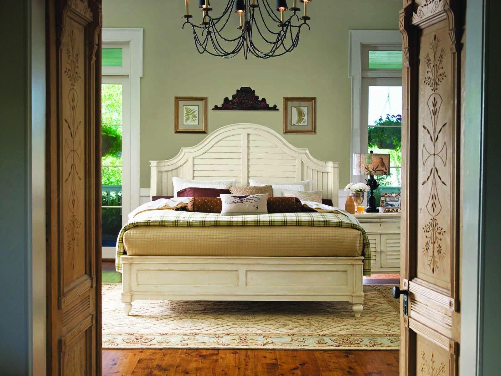 Paula Deen Steel Magnolia Bedroom Set Awesome Paula Deen Home Steel Magnolia Platform Bedroom Set In Linen